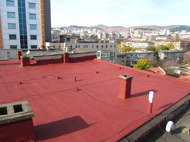 течни хидроизолации за покриви