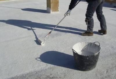 акрилна хидроизолация за покриви, течна гума за покриви