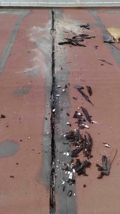 частичен ремонт на покрив
