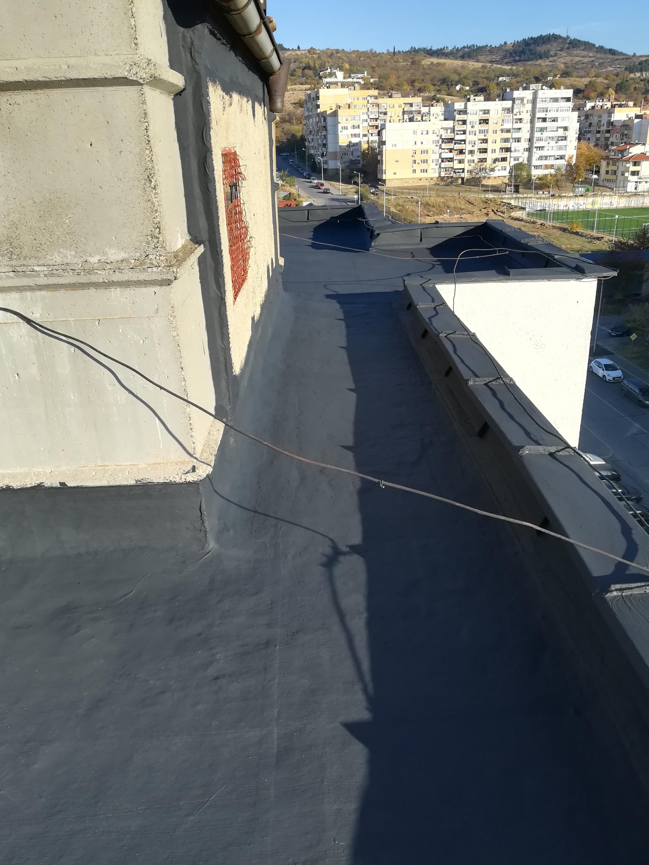 ремонт на покрив Стара Загора с Изомакс А