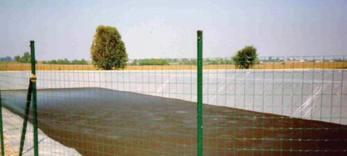 pvc мембрана за резервоари за отпадни води