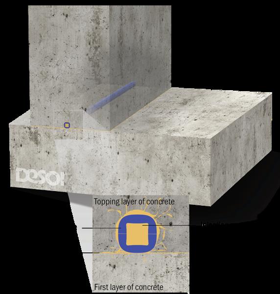 инжектиране на конструктивни фуги в бетон