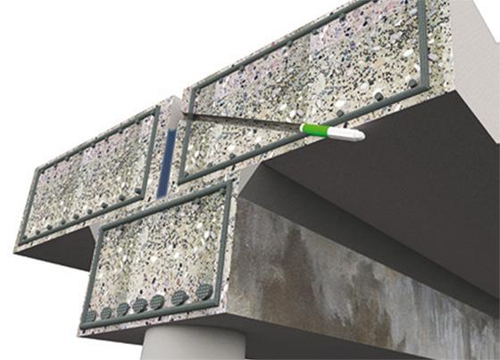 инжектиране в бетона