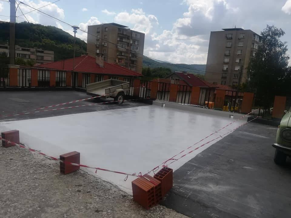 хидроизолация върху бетон или замазка