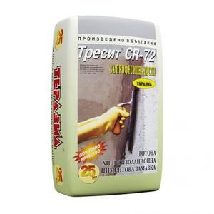 циментова хидроизолация за мазета и сутерени