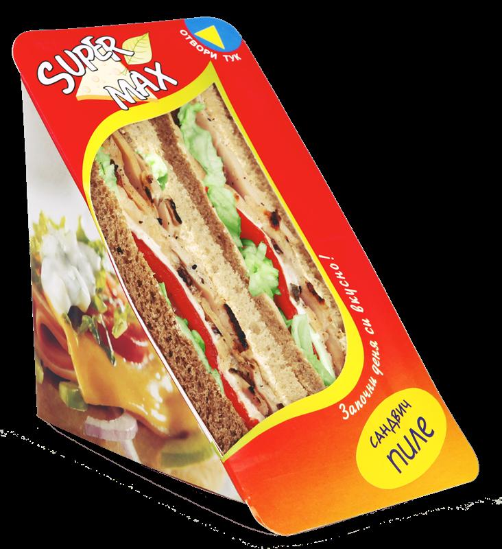 Сандвич с Пилешко филе на скара