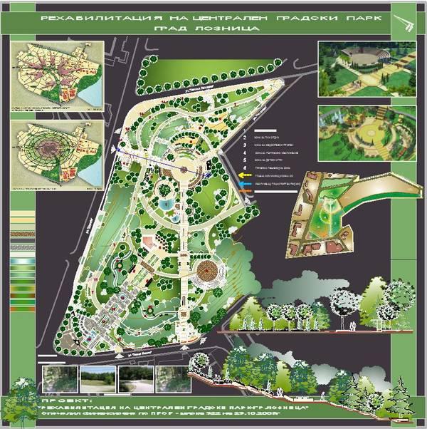 Проект на парк